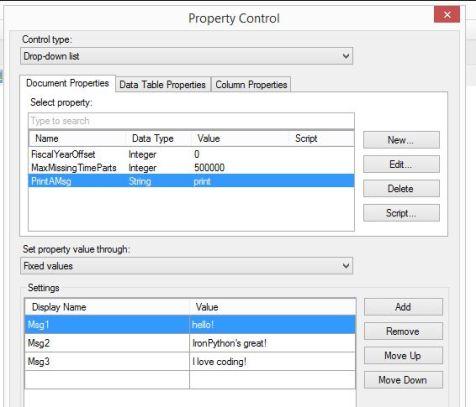 PropertyControl